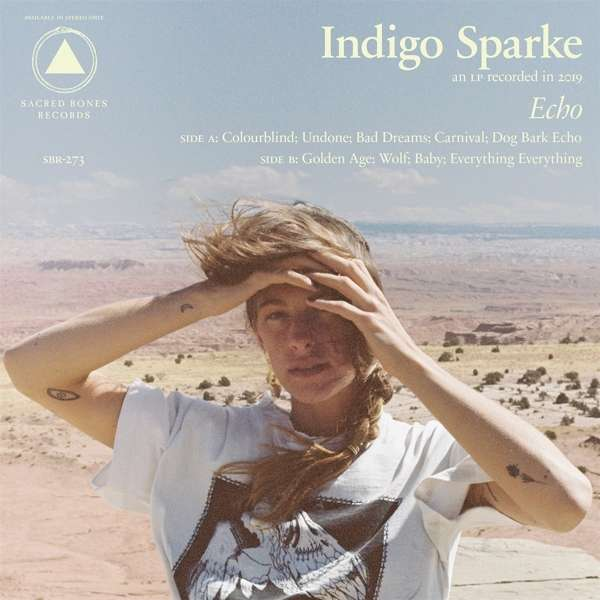 Indigo Sparke Echo Cover Sacred Bones