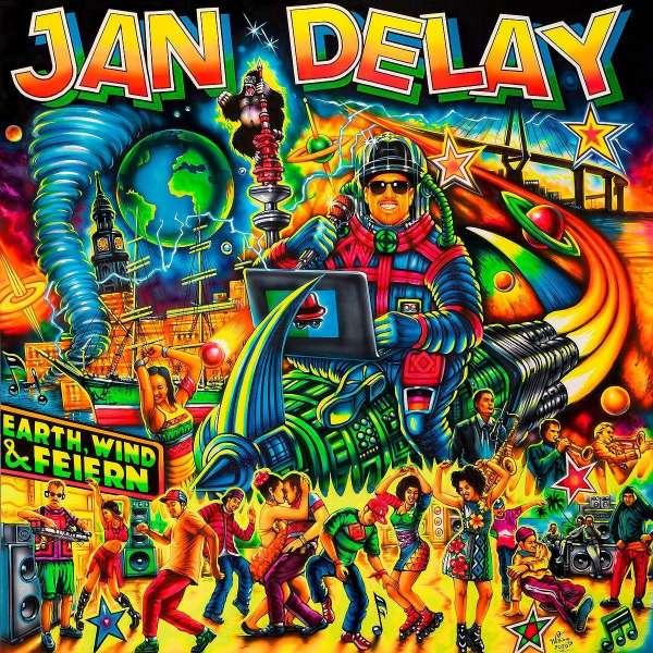 Jan Delay Earth Wind & Feiern Cover Vertigo Berlin