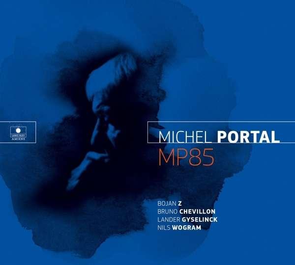 Michel Portal MP85 Cover Label Blue