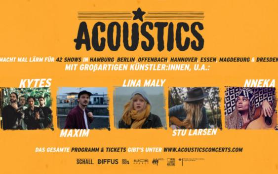 Die Acoustics-Konzertreihe 2021