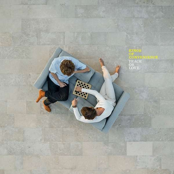Kings Of Convenience Peace Or Love Cover EMI Universal Music