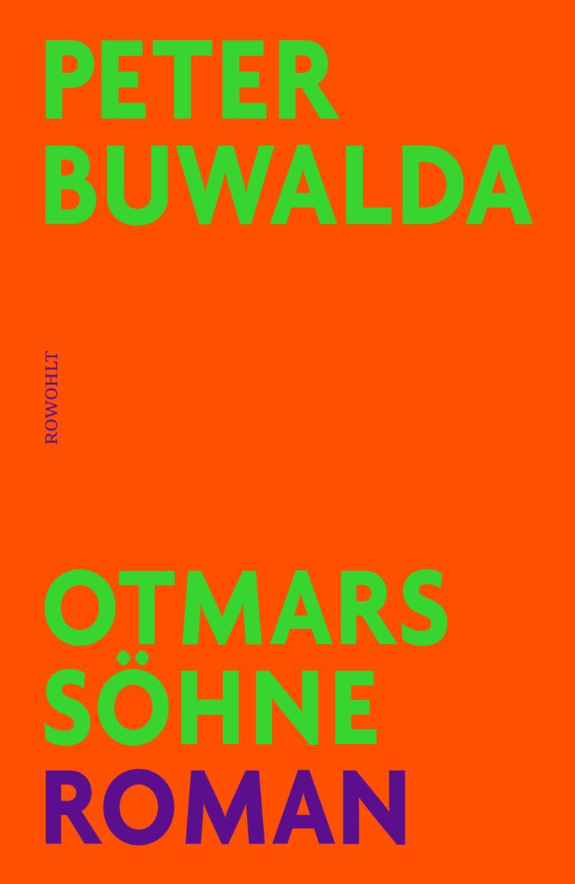 Peter Buwalda Otmars Söhne Cover Rowohlt Verlag
