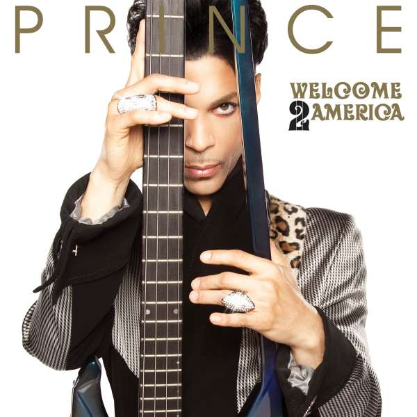 Prince Welcome 2 America Cover Sony Music