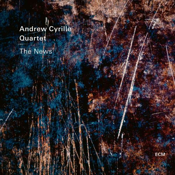 Andrew Cyrille The News Cover ECM Records