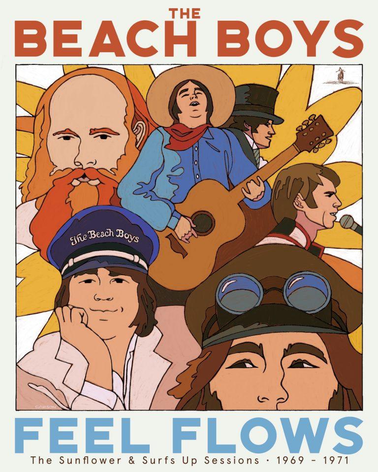 Beach Boys Feel Flows Cover Capitol Universal Music