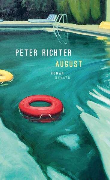 Peter Richter August Cover Hanser Verlag