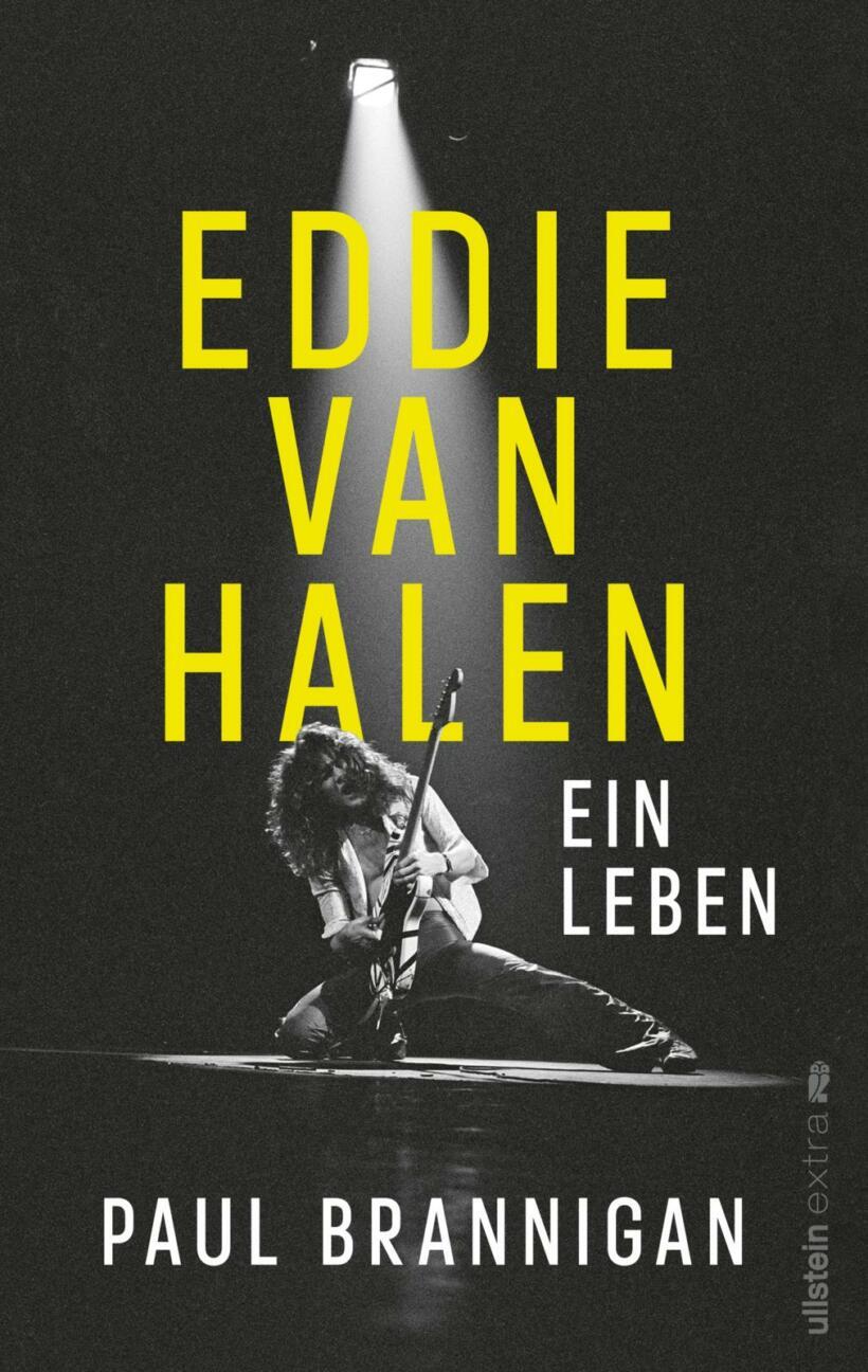 Paul Brannigan Eddie Van Halen Ein Leben Cover Ullstein Verlag