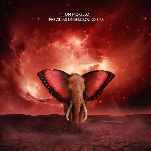 Tom Morello The Atlas Underground Fire Cover Mom+Pop Records